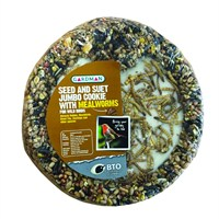 Gardman Jumbo Seed and Suet Cookie MW 600g (A04291)