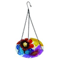 Gardman Butterfly Glass Hanging Bird Bath (A04371)