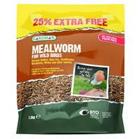 Gardman Mealworm 1.2Kg with 25% Extra Free (A04530AD)