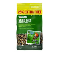 Gardman Seed Mix 2Kg with 25% extra Free (A05419AD)