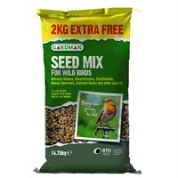 Gardman Seed Mix 12.75kg with 2kg Extra Free (A05449AD)