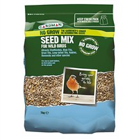 Gardman No Grow Seed Mix 1kg (A06560)