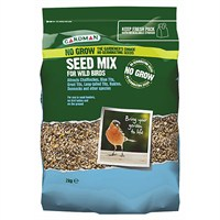Gardman No Grow Seed Mix 2kg (A06565)