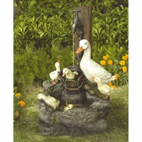 Aqua Creations Duck Family at Tap Water Feature (PWFW2298)