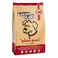 Barking Heads Golden Years Senior Dry Dog Food (Chicken & Salmon) 12kg