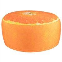 Fallen Fruits Outdoor Orange Pouffe (BK013)