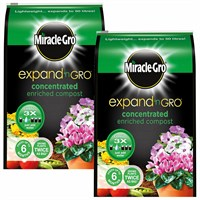 Promotion! Buy 2 for £11 on our Miracle-gro Expand N gro Enriched Compost - 13L (119424) - ONLINE EXCLUSIVE