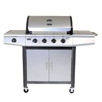 Charles Bentley 5 Burner Premium Gas BBQ in Grey (BBQ.13) DIRECT DISPATCH