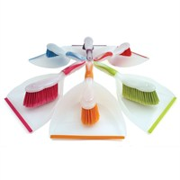 Bright's Soft Grip Dustpan and Brush Set (BT.8001/ASS)