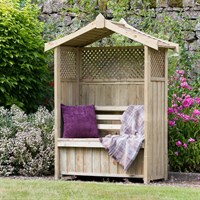 Zest 4 Leisure Dorset Arbour (With Storage Box) (DIRECT DISPATCH)
