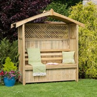 Zest 4 Leisure Hampshire Arbour with Storage Box (DIRECT DISPATCH)