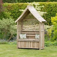 Zest 4 Leisure Norfolk Arbour with storage box (DIRECT DISPATCH)