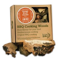 Green Olive Cooking Wood Chunks 5kg - Orange (FORWCBTB2.5)