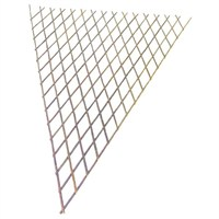 Gardman Expanding Willow Fan Trellis - 1.8m x 0.9m (07327)