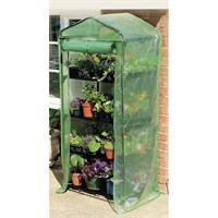 Gardman 4 Tier Compact Growhouse with Re-inforced PVC Cover (08679)