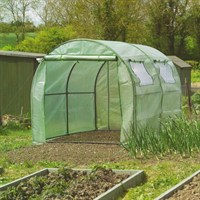 Gardman Polytunnel with Reinforced Cover and Windows (08732)