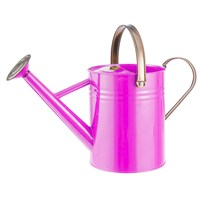 Gardman 4.5L (1 Gal) Metal Watering Can - Bright Pink (34870)