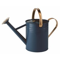 Gardman 4.5L (1 Gal) Metal Watering Can - Heritage Blue (34896)