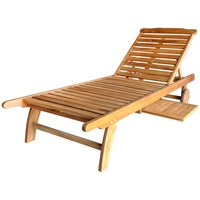 Charles Bentley Hardwood Hardwood Sun Loungeriner (GL/GF.LOUNGE) DIRECT DISPATCH