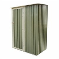 Charles Bentley Garden 4.7ft x 3ft Metal Storage Shed (GLMTSHED05) DIRECT DISPATCH