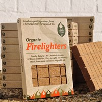 Green Olive Direct Dispatch Organic Firelighter- 32 Pieces (FEFCB200)