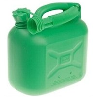 Handy Parts 5L Plastic Petrol Can - Green (HP-204)