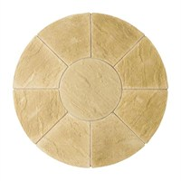 Kelkay Abbey Circle Paving Kit York Gold 1.5m (8502YG)