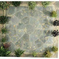 Kelkay Abbey Circle Paving Kit Antique 2.4m (8504AN)