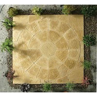 Kelkay Abbey Circle Paving Kit York Gold 2.4m (8504YG)