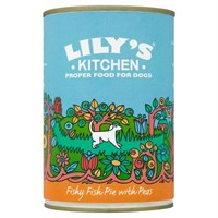 Lily's Kitchen Fishy Fish Pie with Peas Wet Dog Food 400g