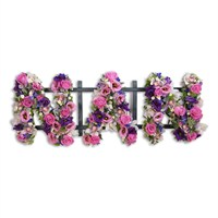 With Sympathy Flowers - Loose Letters Nan