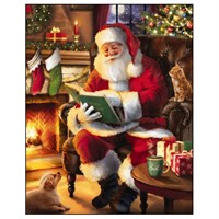 Noel Tatt 8  Pack Charity Christmas Cards - Story Time - 8.5x10.7cm (41560)