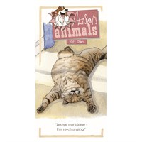 Otter House Alisons Animals Slim Diary 2021 (210368)