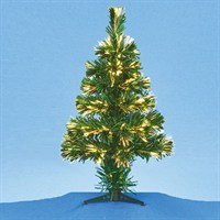 Premier 45cm Fibre Optic Tree Warm White LEDs - Battery Operated (FB161167WW)