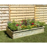 Zest 4 Leisure Sleeper Raised Bed 1.8 x 0.90 x 0.30m (2 Pack) (DIRECT DISPATCH)