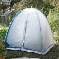 Popadome Fleece Cover for All-in-One Fruit and Vegetable Net Protection System 4 x 4ft