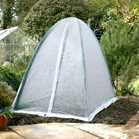 Popadome Fleece Cover for All-in-One Fruit and Vegetable Net Protection System 6 x 3ft