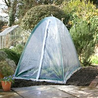 Popadome Cloche Cover for All-in-One Fruit and Vegetable Net Protection System 6 x 3ft