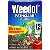 Weedol Weedkiller Pathclear (12 Liquid Concentrate Tubes) (011006)