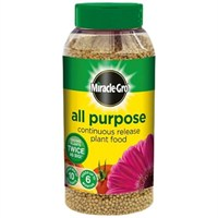 Miracle-Gro All Purpose Continuous Release Plant Food 1kg Jar (017684)