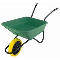Walsall Wheelbarrow Co. - The Shire 90L Puncture Proof Green (SHGPP)