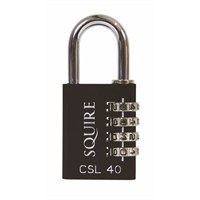 Squire 38mm Toughlok Combi Recodable Die Cast Combination Padlock (CSL40)