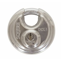 Squire 70mm Disc Style Stainless Steel Padlock (DCL1)