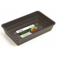 Stewart Garden Premium Extra Deep Gravel Tray without Holes - 38cm - Black (2376005)