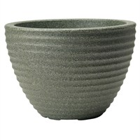 Stewart Garden Low Honey Pot - 50cm - Marble Green (5098063)