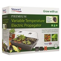 Stewart Garden Premium Variable Control Electric Propagator - 52cm - Black (2599005)