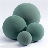 Oasis® Ideal Floral Foam Sphere (Wet) - 2 x 16cm (1083)