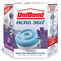 UniBond Aero 360 Humidity Absorber Lavender-Scented Refill (2 pack) (341901)