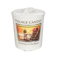 Village Candles - Christmas on the Beach Premuim Votive Christmas Candle (106102005)