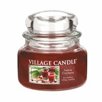 Village Candles - Festive Cranberry Premuim 11oz Christmas Candle (106311840)